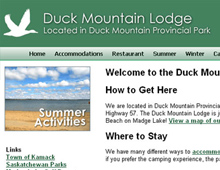 Duck Mountain Lodge