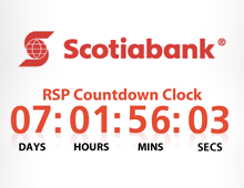 Scotiabank.com RSP Countdown